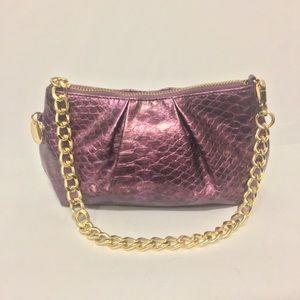 New Deep Purple Chico's Handbag